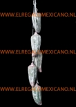 mexicaanse decoratie terracotta slinger chilipepers
